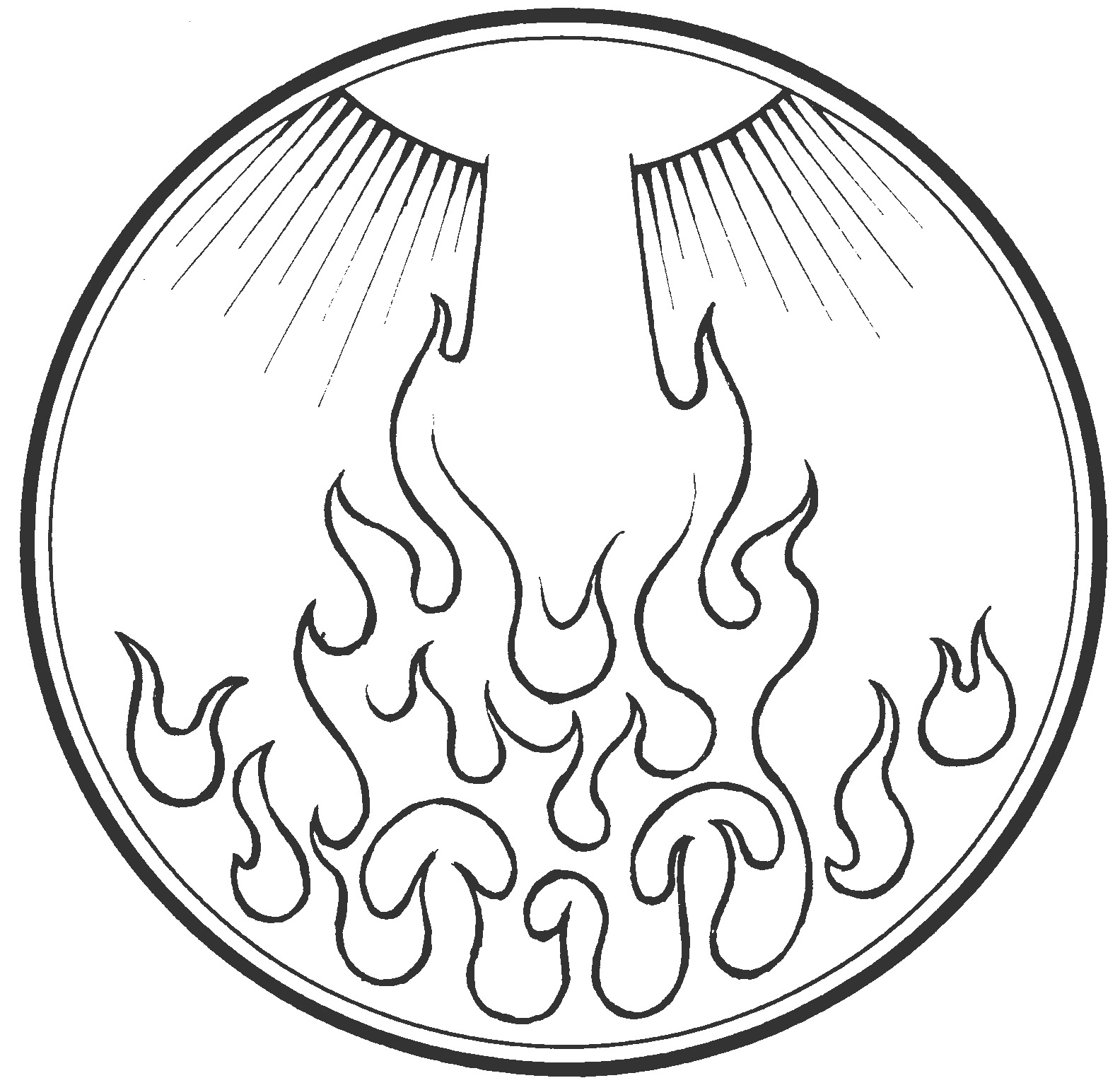 The feast of the day of pentecost immanuel lutheran church for Pentecost coloring pages