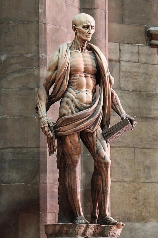 St Bartholomew Statue