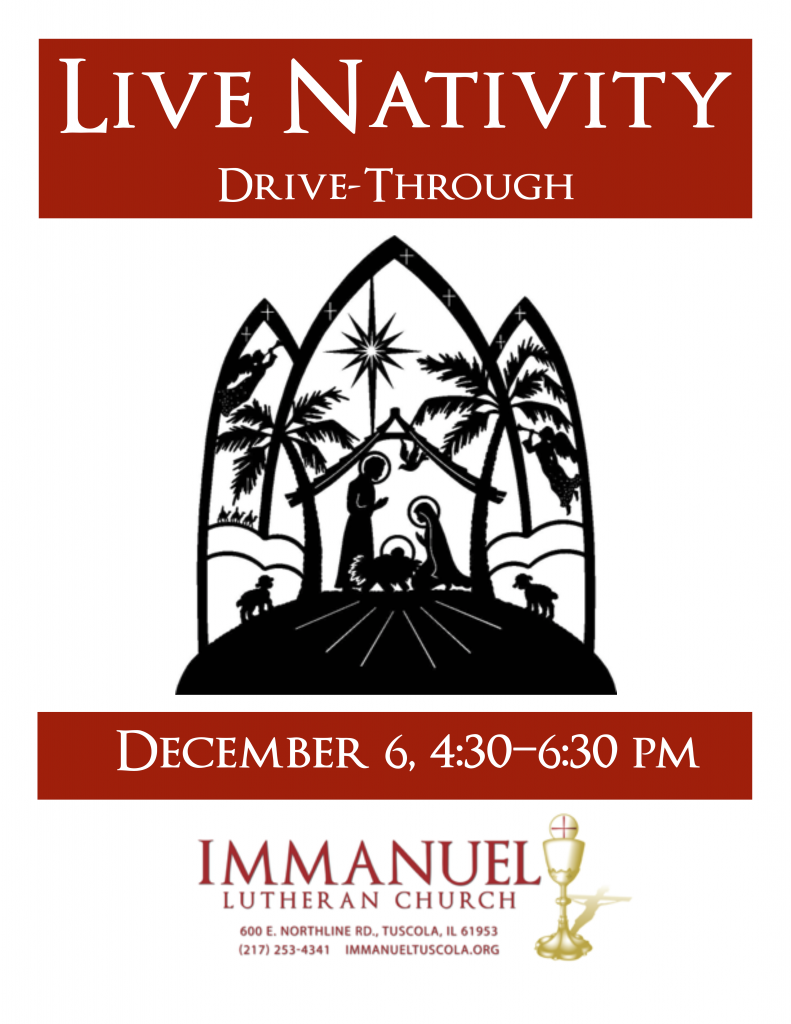 Live Nativity Advert_2015