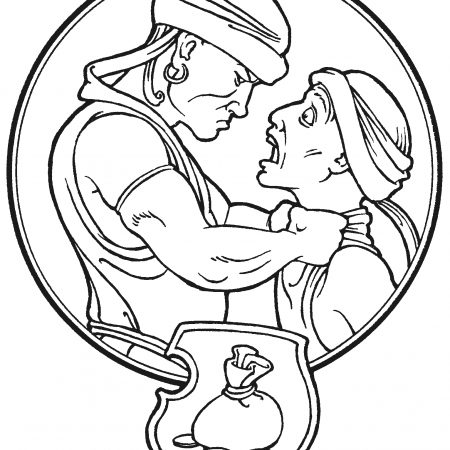 matthew 9 36 coloring pages - photo#18
